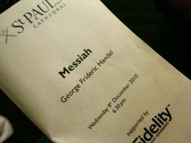 Messiah programme